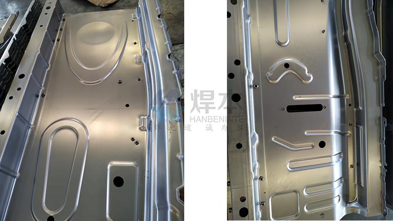 焊本调试烟台汽车制造公司中频点焊机3