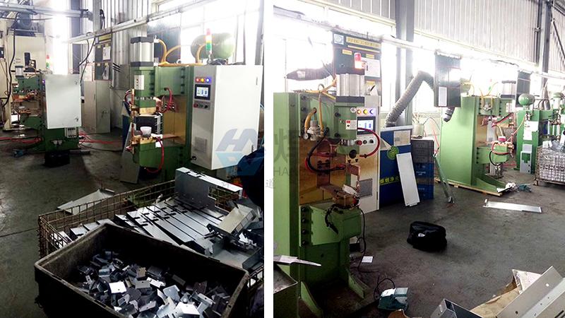 焊本调试黄岛镀锌板螺母点焊机