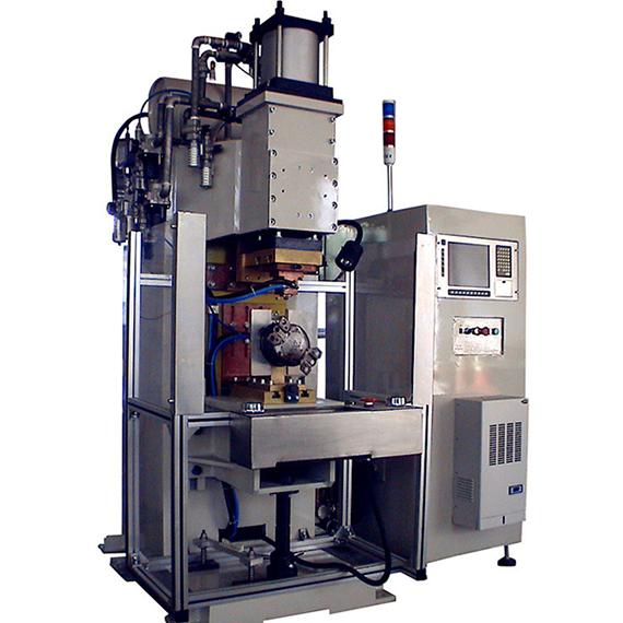 冰箱压缩机铜管与壳体焊接机