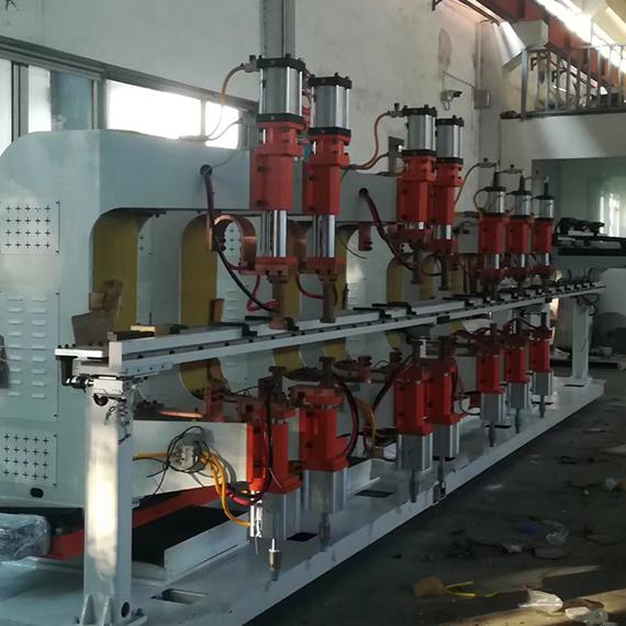 空调配件流水线点焊机