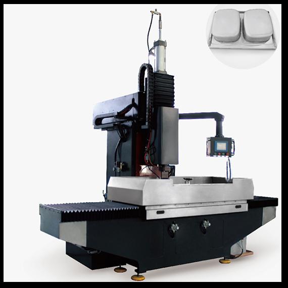 中频逆变四轴联动数控水槽缝焊机