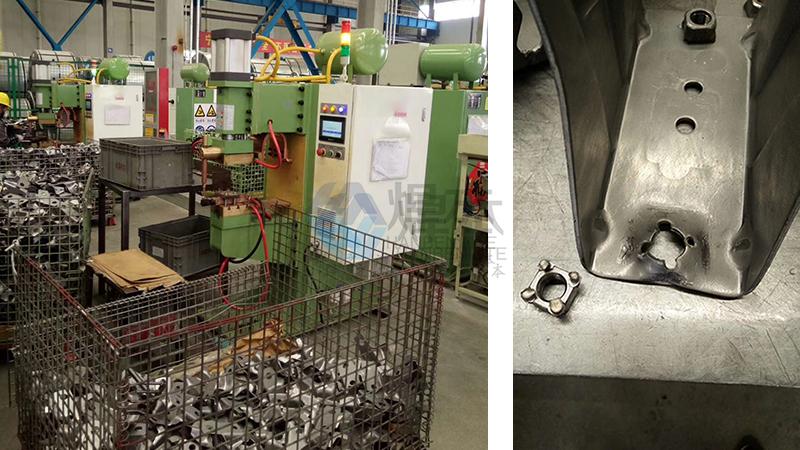 焊本酸洗板螺母点焊机1