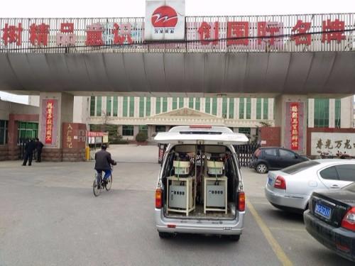 济南中国重汽某零部件供应商使用焊本螺母输送机