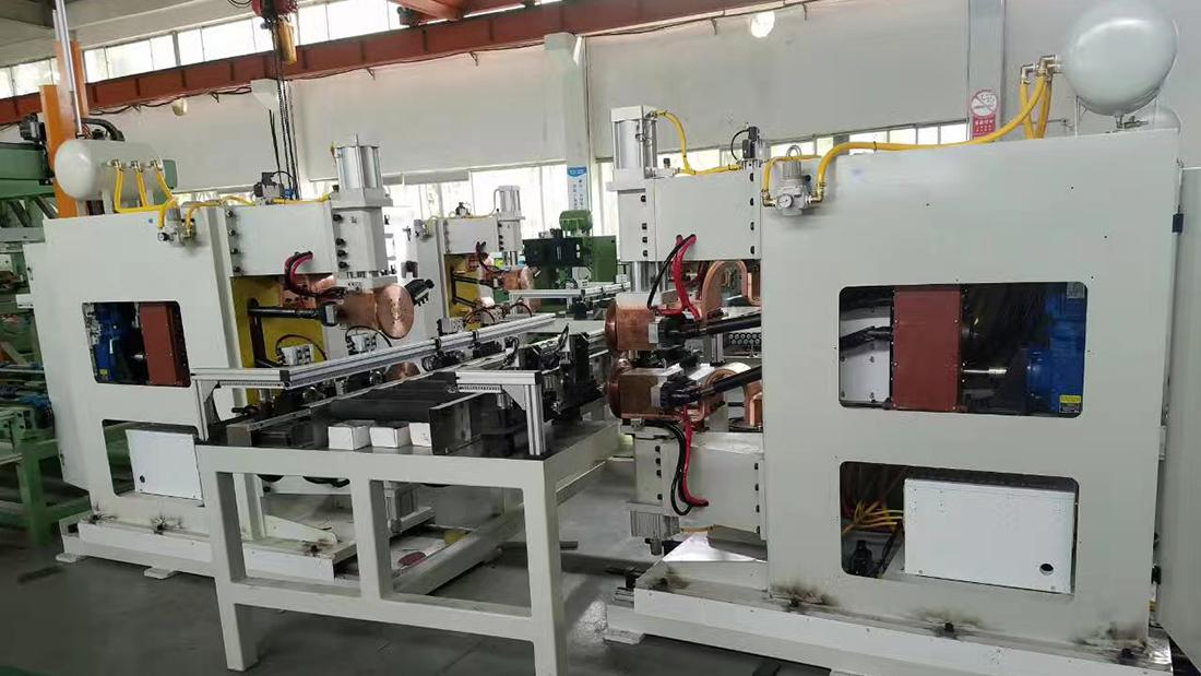 非标焊机生产现场2