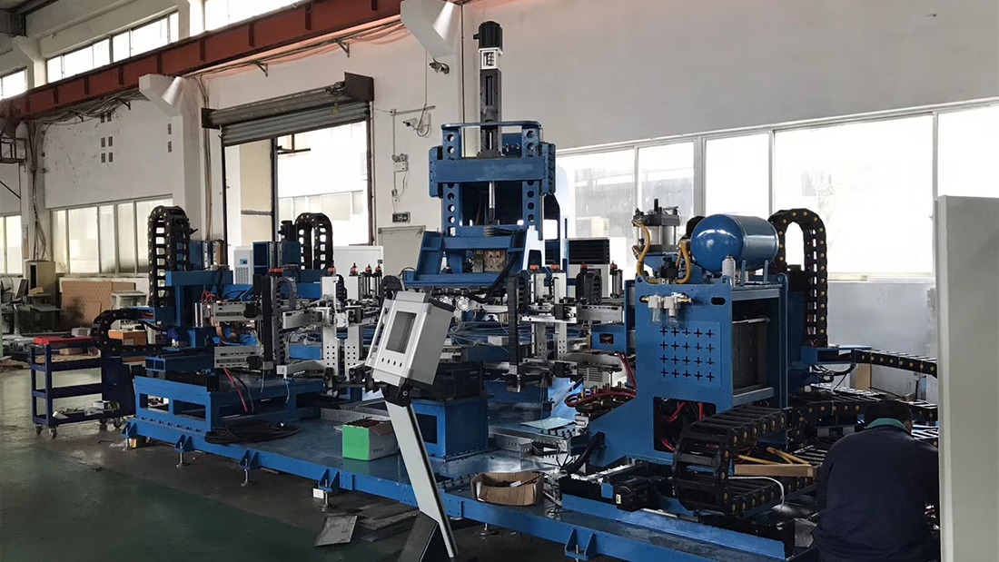 非标焊机生产现场7