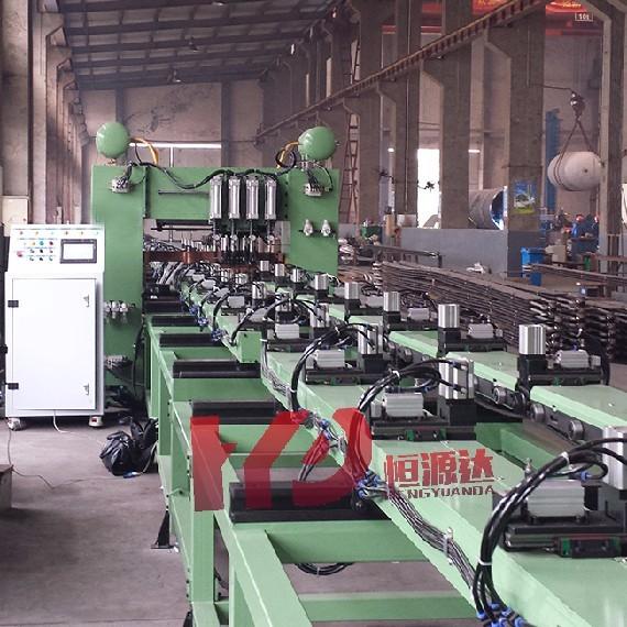 化工行业散热器龙门点焊机