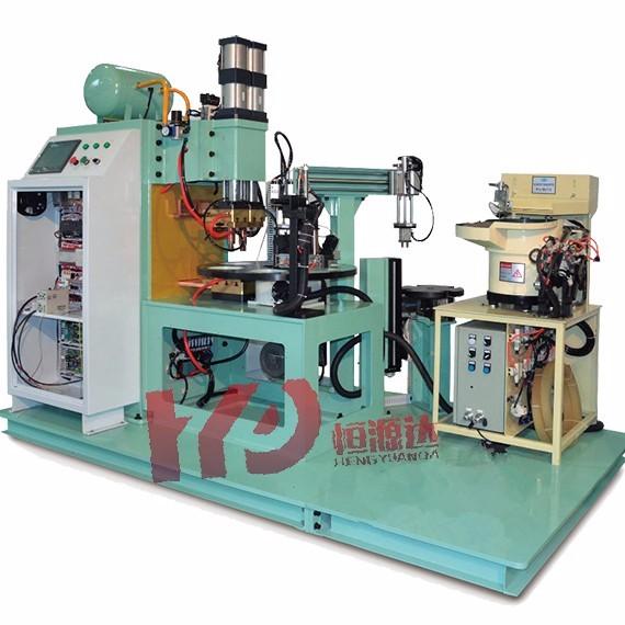 中频六工位自动转盘点焊机