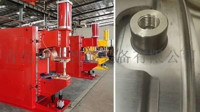 青岛焊本大型中频点焊机出口