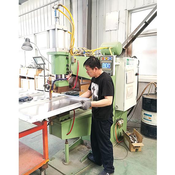 中频铝板点焊机