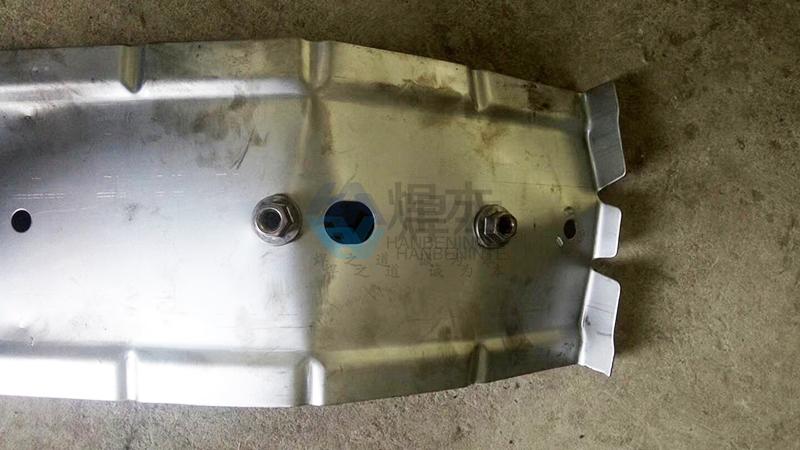 焊本法兰螺母中频点焊机2