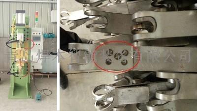 青岛焊本为潍坊客户安装调试中频点焊机