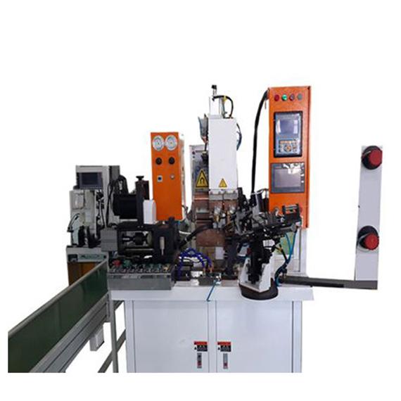 马达转子自动送料中频点焊机