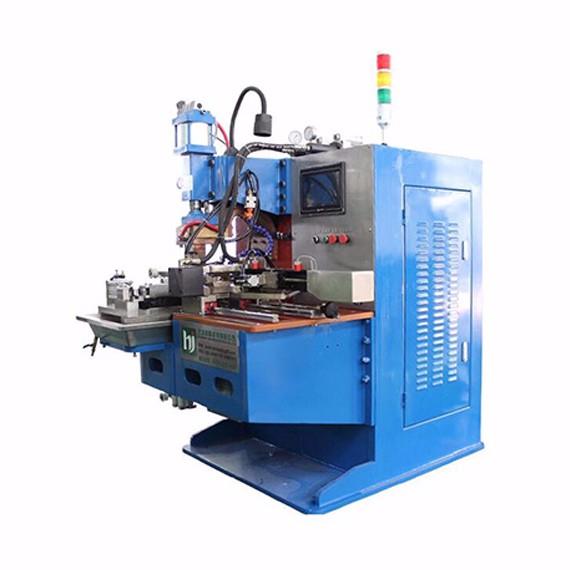 铜编织线成形焊接专机