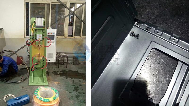 焊本镀锌板中频螺母点焊机2