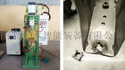 青岛焊本不锈钢螺母点凸焊机安装试焊
