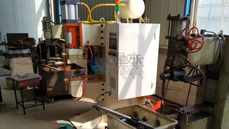 焊本潍坊调试中频点焊机2