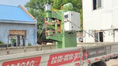 青岛焊本发货冰箱铰链中频点焊机
