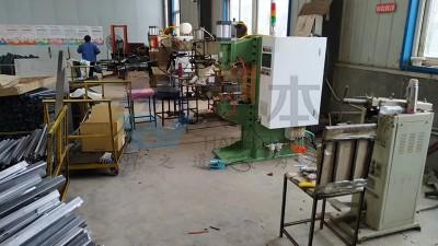 潍坊某汽车配件公司回购焊本中频点焊机